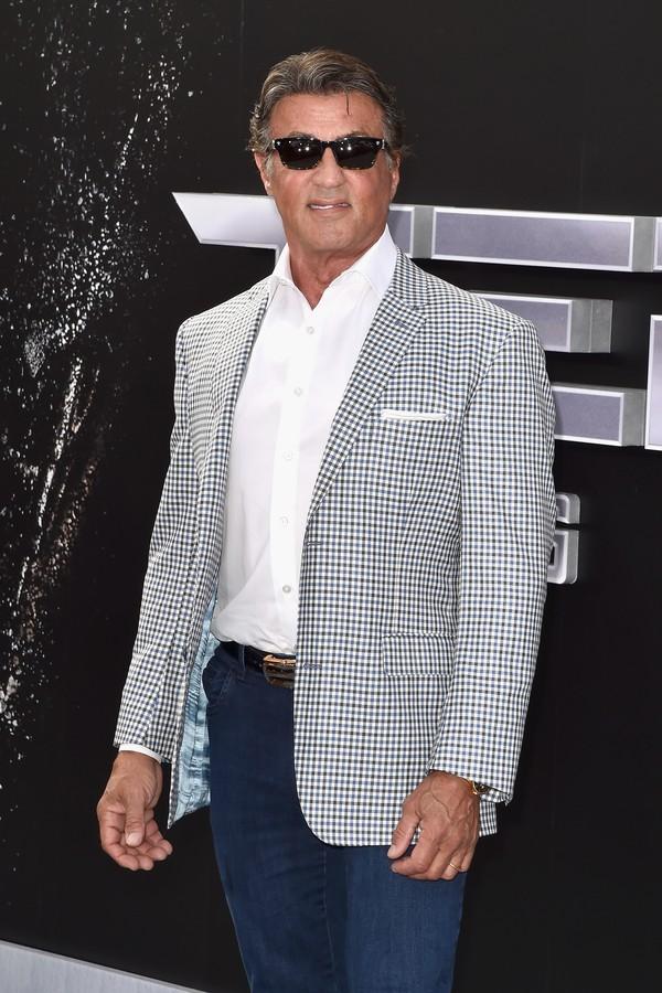 Sylvester Stallone é o garanhão italiano (Foto: Getty Images)