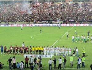 Murici x Flamengo (Foto: Eduardo Peixoto / Globoesporte.com)