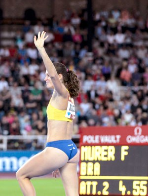 Fabiana Murer, Estocolmo da Diamond League (Foto: Agência Reuters)