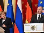 Merkel e Putin discordam sobre pacto de não agressão de 1939