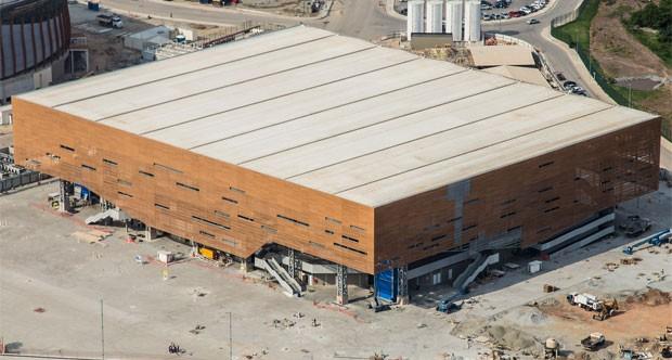 Arena do Futuro está praticamente pronta: 96% das obras feitas (Foto: Renato Sette Câmara / Prefeitura do Rio)