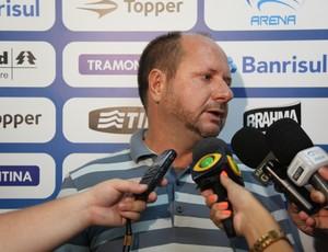 Marcos Chitolina revelou reclamação do Grêmio (Foto: Lucas Uebel/Grêmio FBPA)
