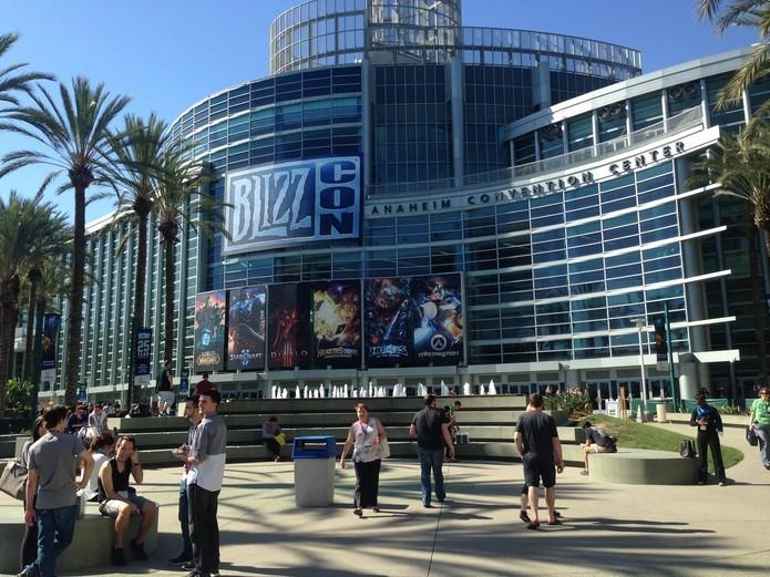 BlizzCon ocorre anualmente, em Anaheim, Califórnia, EUA (Foto: Felipe Vinha/TechTudo)