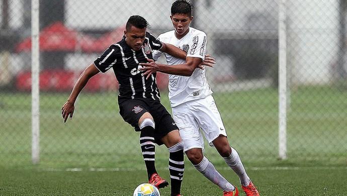 Corinthians e Santos ficam no empate (Foto: Pedro Ernesto Guerra Azevedo / Santos FC)