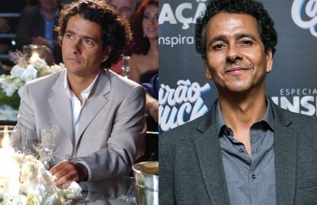 Marcos Palmeira interpretou o produtor de cinema Fernando, que tinha um romance com Maria Clara (Foto: TV Globo)