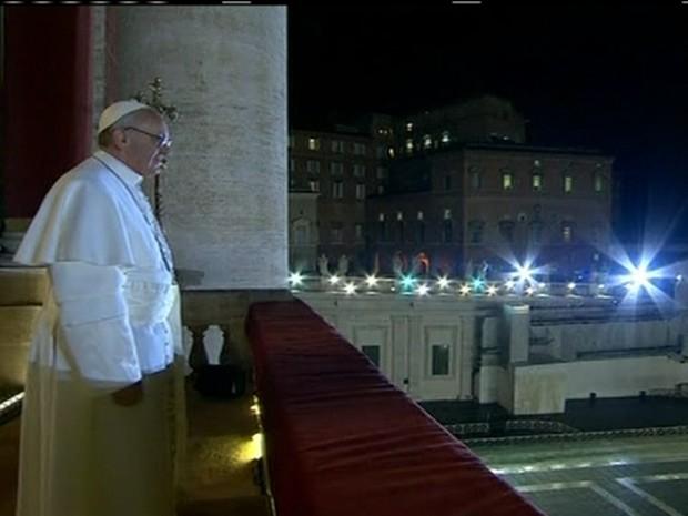 Papa Francisco I (Foto: Reprodução Globo News)