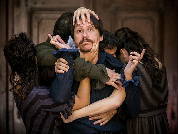 Paulo Hamilton e o elenco da Cia Atores de Laura (Foto: Paula Kossatz)