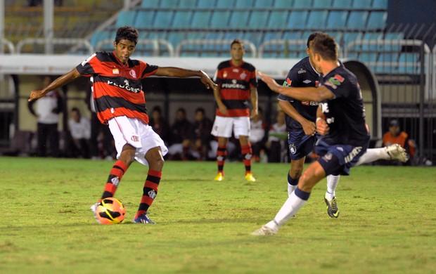 Gabriel, Flamengo x Remo (Foto: Alexandre Vidal/Fla Imagem)