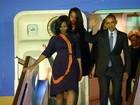 Obama viaja à Argentina com agenda oficial lotada