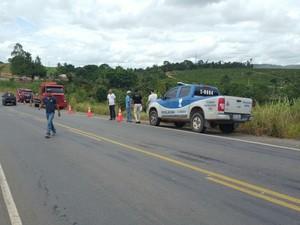 Acidente não afetou o trânsito na região (Foto: Rafael Vedra / Liberdadenews.com.br )