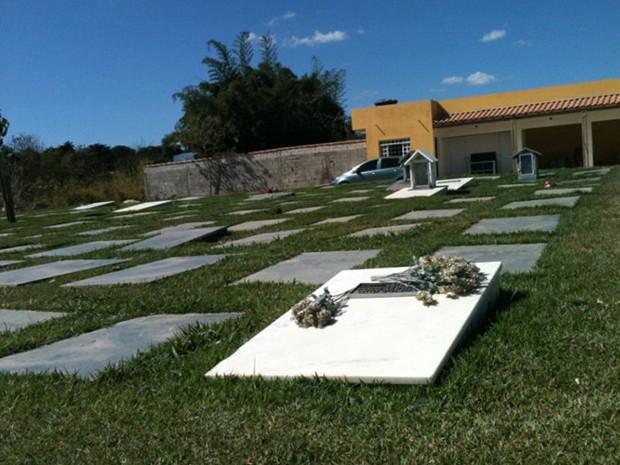Cemitério dos animais fica em Betim, na Região Metropolitana. (Foto: Cemitério dos Animais/ Divulgação)