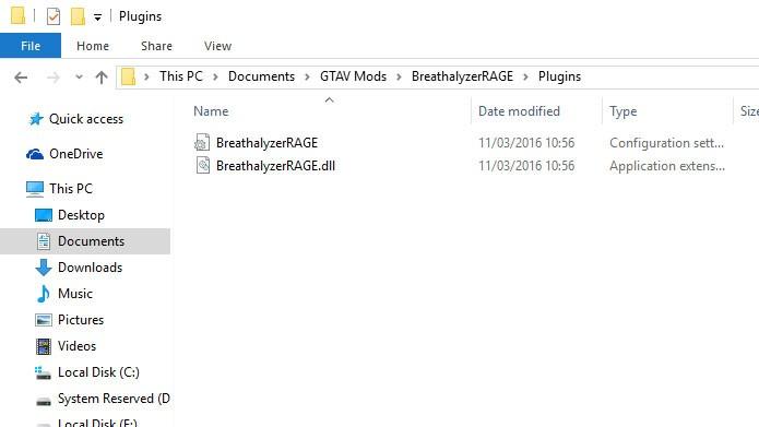 Para fazer a instalação manual no GTA V, coloque os arquivos na pasta correta (Foto: Reprodução/Tais Carvalho)