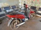 Polícia Militar encontra motoneta furtada abandonada em Cacoal, RO