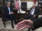 Kerry e Abbas se reúnem após novos confrontos nos territórios palestinos