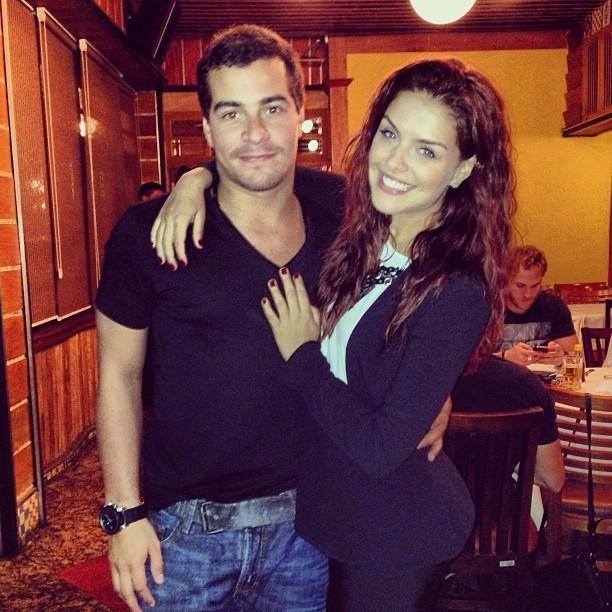 Thiago Martins e Paloma Bernardi (Foto: Instagram / Reprodução)