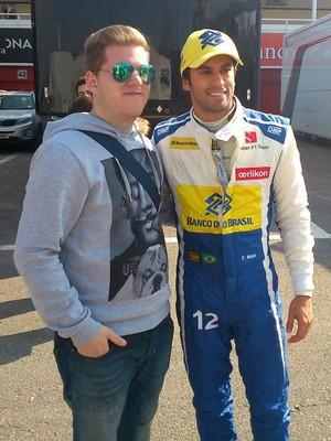 Felipe Nasr - Sauber - testes de pré-temporada - Barcelona -  dia 1 (Foto: Divulgação)