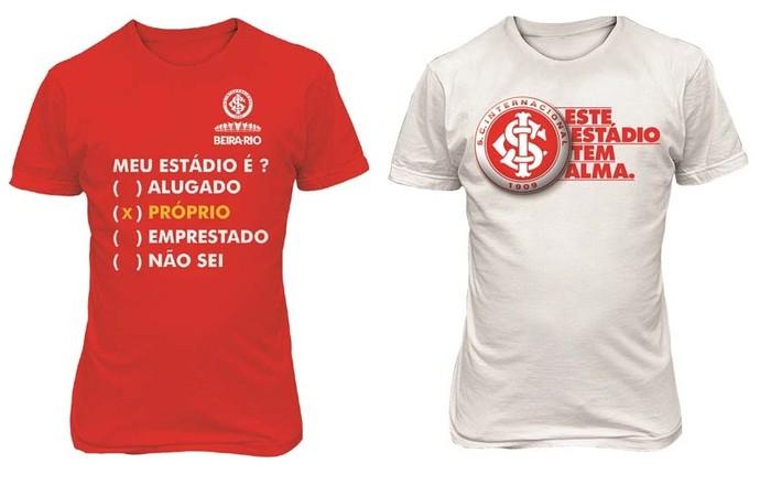 47687307c3 Inter lança linha de camisas e provoca o Grêmio   Meu estádio é ...