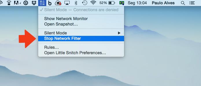 Desligue o filtro de rede (Foto: Reprodução/Paulo Alves)