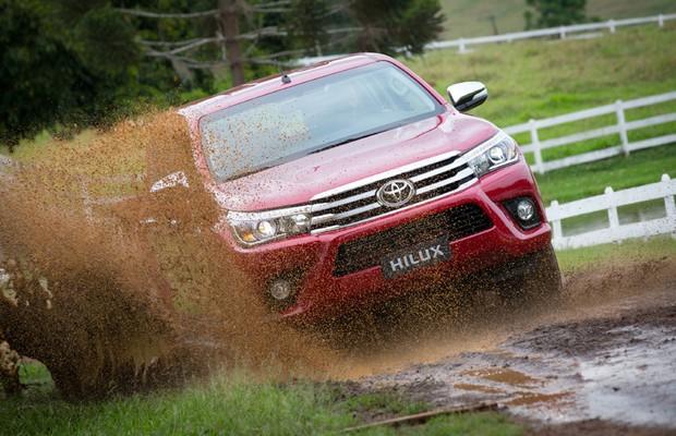 Toyota Hilux 2016 (Foto: Divulgação)