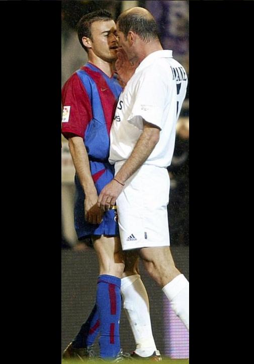MEme Zidane Luis Enrique