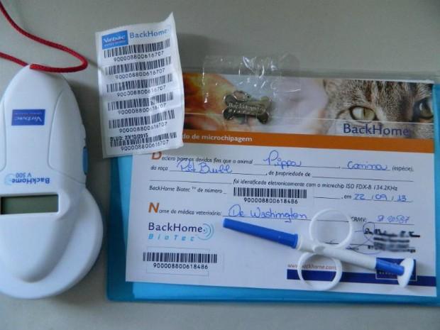 Investimento incial no material para microchipagem foi de R$ 10 mil (Foto: Arquivo Pessoal/UIPA)