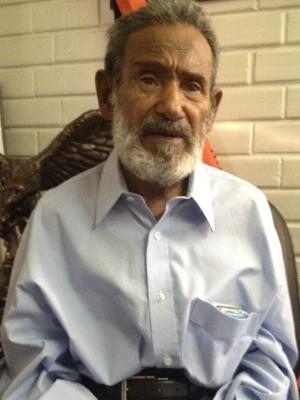 Raimundo, ex-morador de rua, volta a morar com a família depois de 30 anos nas ruas (Foto: Humberta Carvalho/G1)