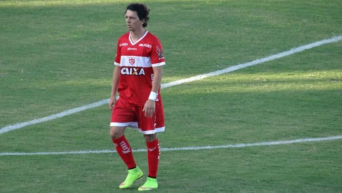 Danilo Bueno, meia do CRB (Foto: Leonardo Freire/GloboEsporte.com)