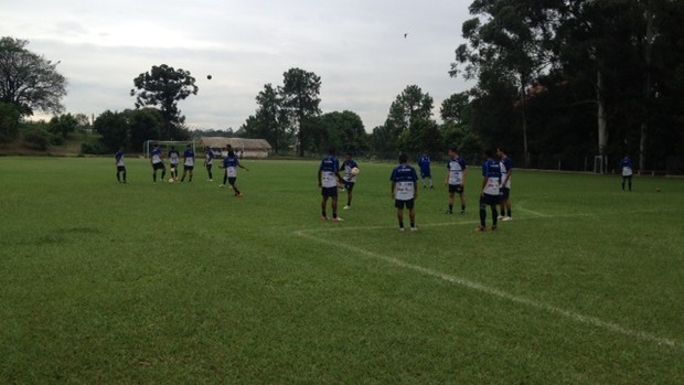 São Bento treino (Foto: Douglas Brito/TVTEM)