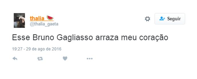 Bruno Gagliasso é elogiado pelos internautas (Foto: Reprodução)