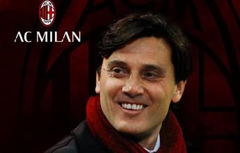 Milan anuncia Vincenzo Montella como seu novo treinador