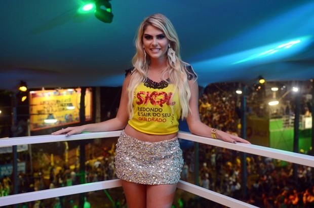 Bárbara Evans (Foto: Márcio Reis /Ag Haack)