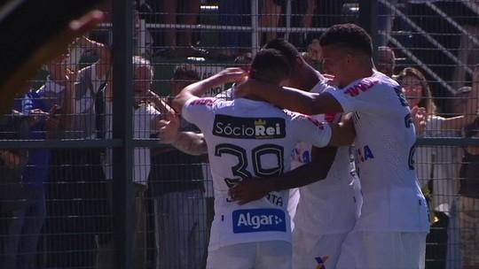 Análise: sem enrolar, Santos acelera em vitória consistente sobre o Bahia