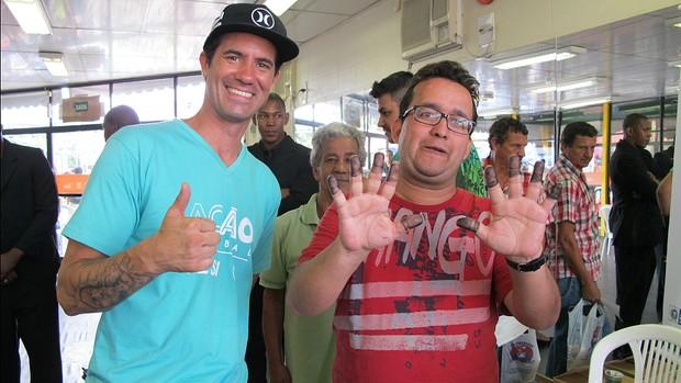 Evento recebe mais de 24 mil pessoas em Barra Mansa (Globo/Isabel Butcher)