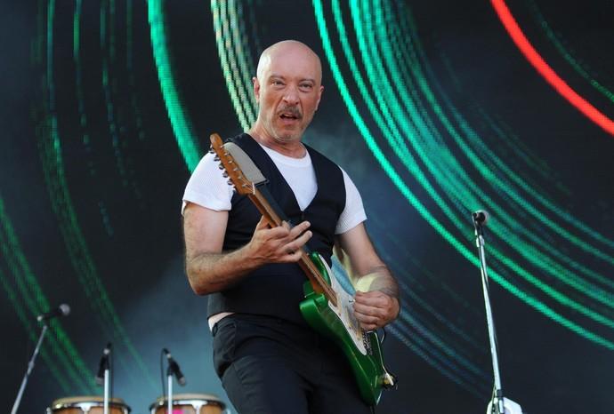 Edgard Scandurra, guitarrista do Ira! (Foto: Alexandre Durão/G1)