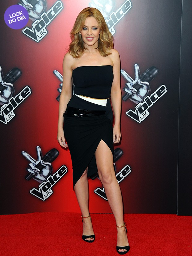 Look do dia - Kylie Minogue (Foto: Getty Images)