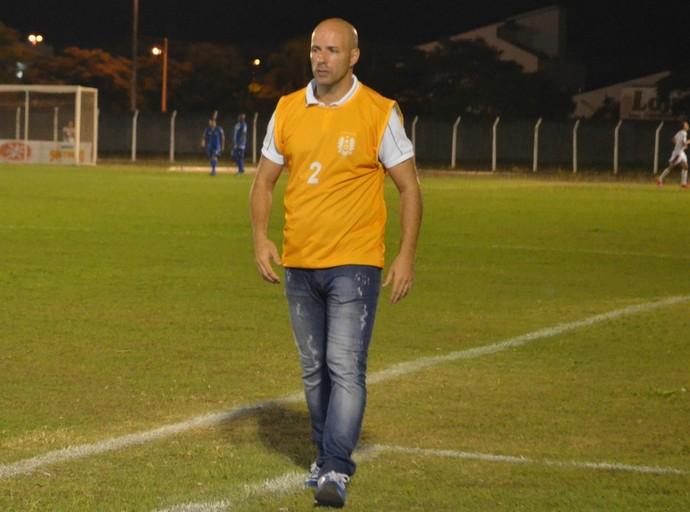 Paulo Morgado técnico Nacional-AM (Foto: GloboEsporte.com)