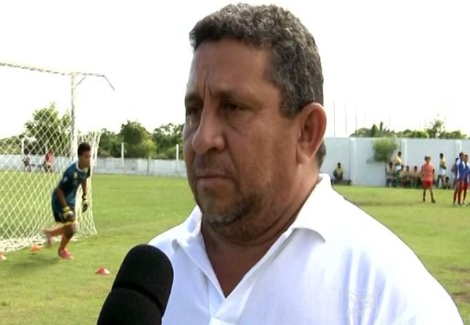 Alfredo Vieira - presidente do Sabiá - time de Caxias-MA (Foto: Reprodução/TV Mirante)