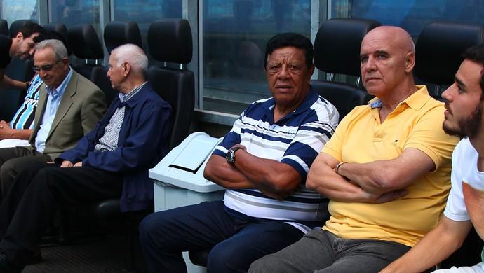 Valdir Espinosa em jogo comemorativo do Grêmio (Foto: Lucas Uebel / Grêmio, DVG)