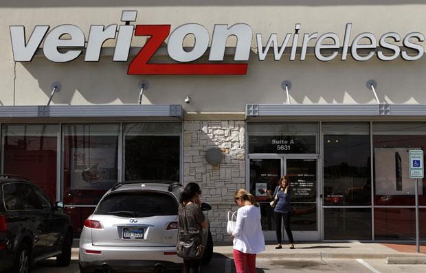 Loja da Verizon em Dallas, Texas, em 17 de outubro de 2012 (Foto: AP)