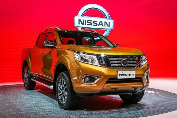 Nova Nissan Frontier (Foto: Divulgação)