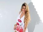 Vice-Miss Bumbum 2015 não quer comparações com Andressa Urach