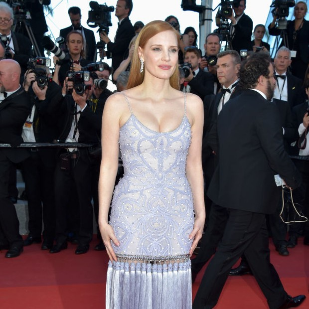 Jessica Chastain Cannes 2017 (Foto: Getty Images)