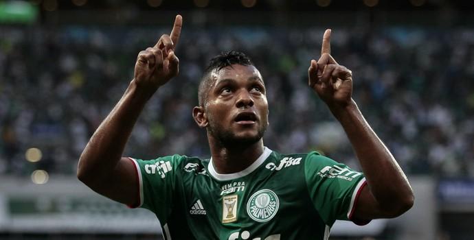 Borja Gol Palmeiras x Ferroviária (Foto: Ale Frata/Código 19/Estadão Conteúdo)
