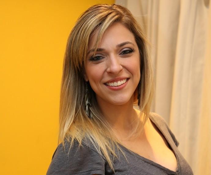 Júlia Rabello participa do 'Altas Horas' (Foto: Carol Caminha/Gshow)