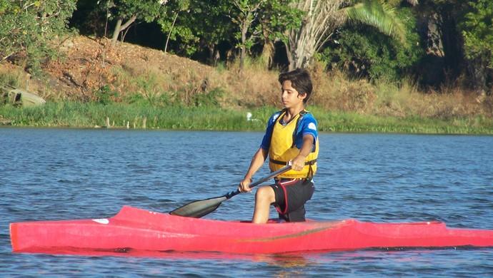 Jovens sonham com um futuro no esporte (Foto: Wellington Aires/Divulgação)