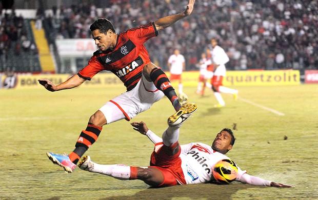 João Paulo jogo Flamengo contra Náutico (Foto: Alexandre Vidal / Fla Imagem)