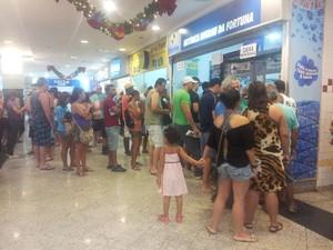 últimos apostadores Mega (Foto: Lincoln Chaves / Globoesporte.com)