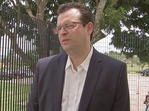 Hiram Júnior alega que divergências também foram causadas por terceiros (Foto: Reprodução/ TV TEM)