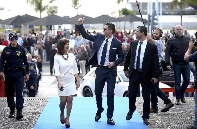 Cristiano Ronaldo medalha Ilha da Madeira (Foto: EFE)