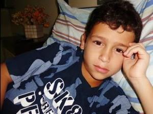 Caio Melo, de 12 anos, morreu com zika no interior do Ceará (Foto: Arquivo pessoal)